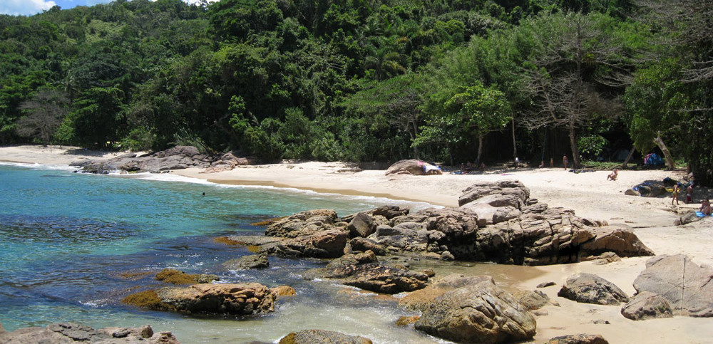 Praias de Ubatuba - Praia do Cedro
