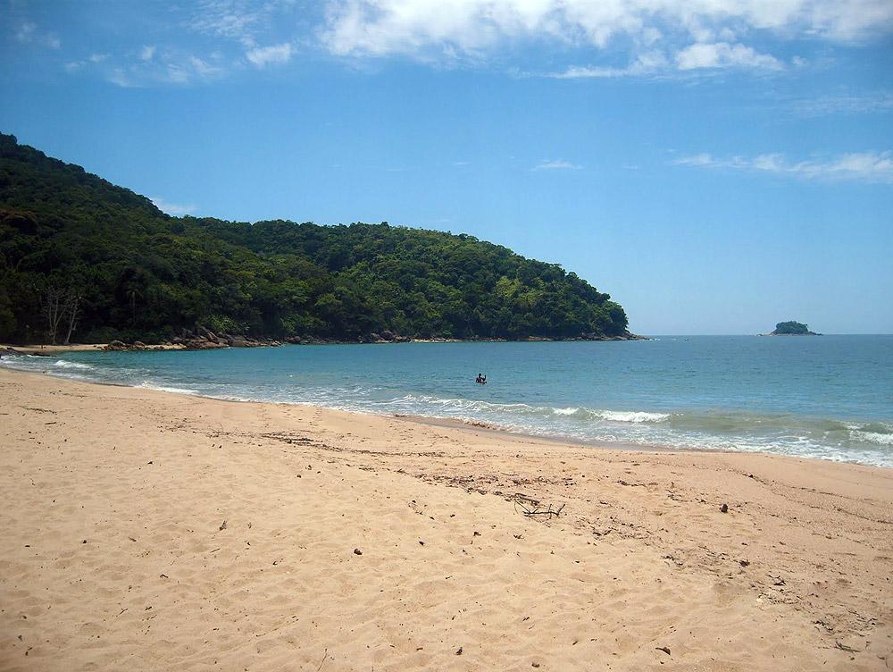 Praia do Cedro - Praia de Ubatuba - por valteraragão