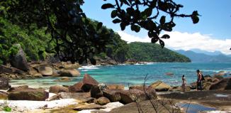 Praia das Conchas - Praia de Ubatuba