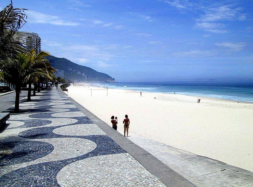 Praia Ipanema por-Brasil-Praia