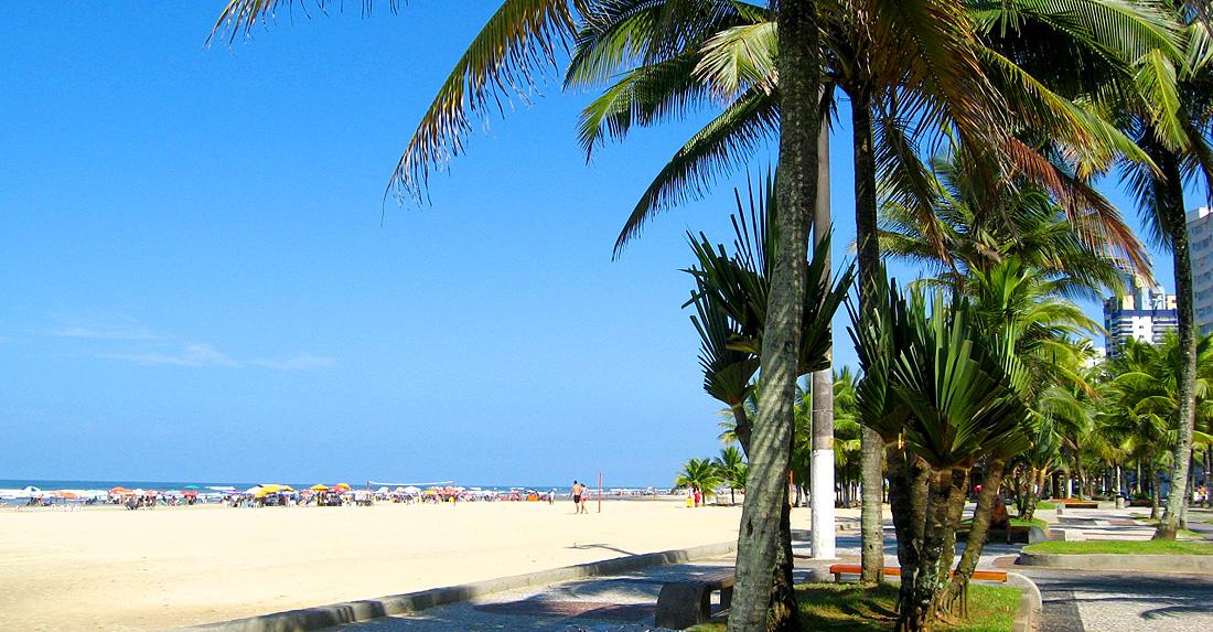 Praia Guilhermina - Praia Grande