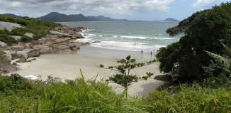 Praia da Barra da Lagoa - Florianópolis - por Adail Pedroso Rosa
