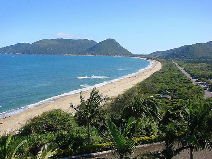 Praia do Morro das Pedras - Florianópolis - por vejanomapa