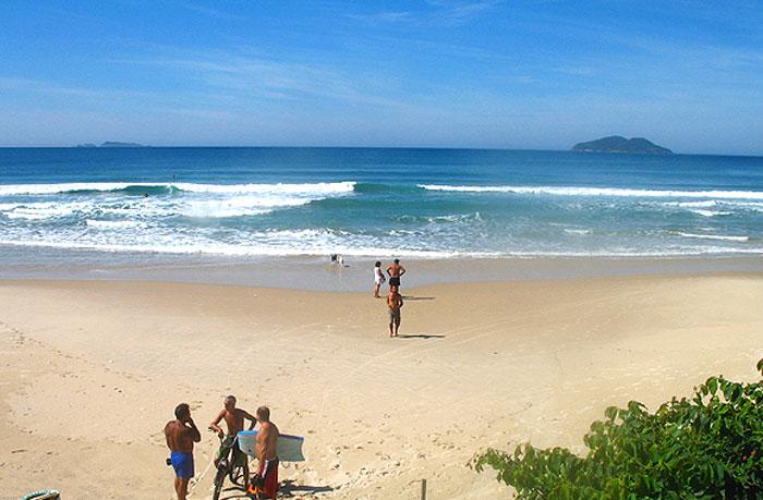 Praia dos Açores - Florianópolis - por Roger-Faleiro