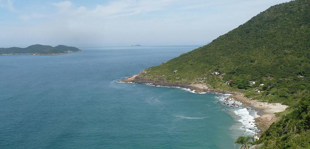 Praia do Saquinho - Florianópolis