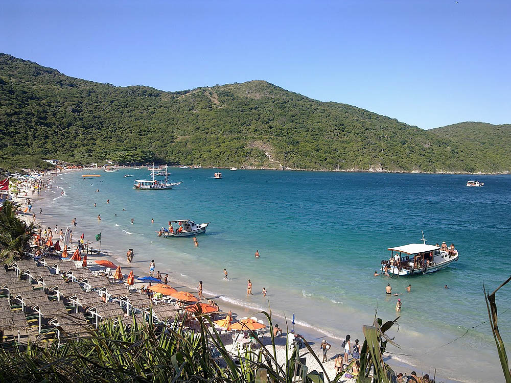 Praia do Forno - Arraial do Cabo - por cariocassaobonitas