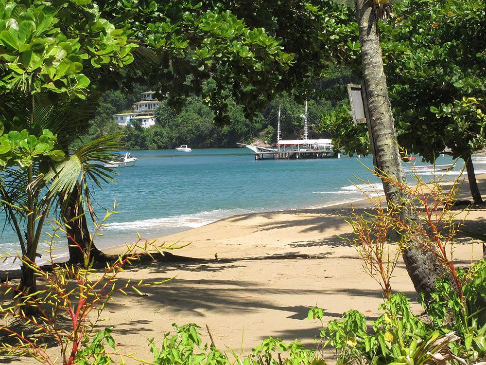 Praia Palmas - Ilha Grande - por blogdnj