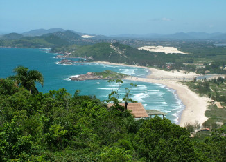 Praia da Ferrugem – Garopaba - por kalaniceudaferrugem-blogspot-com-br