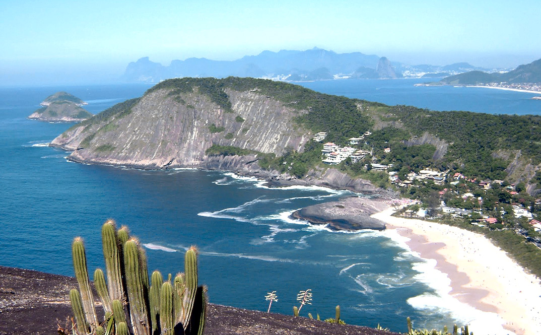 Praia de Itacoatiara - NIterói - por Filipe-Gil