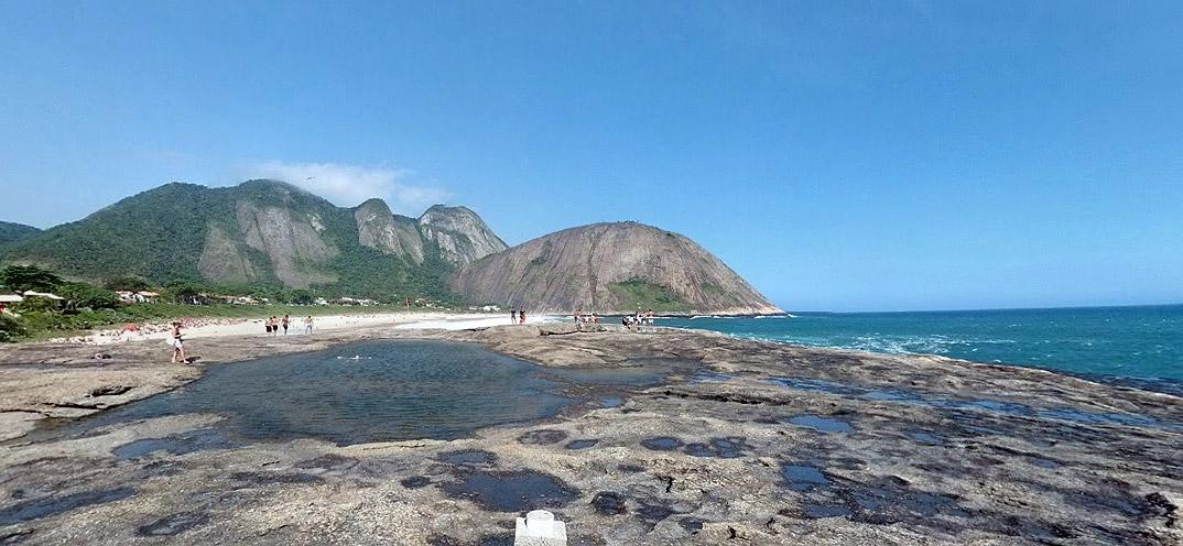 Praia de Itacoatiara - NIterói - por Zen-Jr