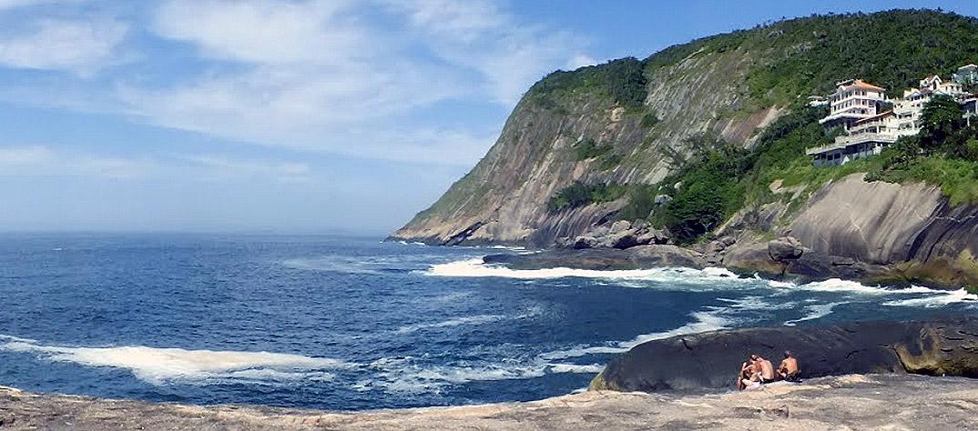 Praia de Itacoatiara - NIterói - por juniorpinto
