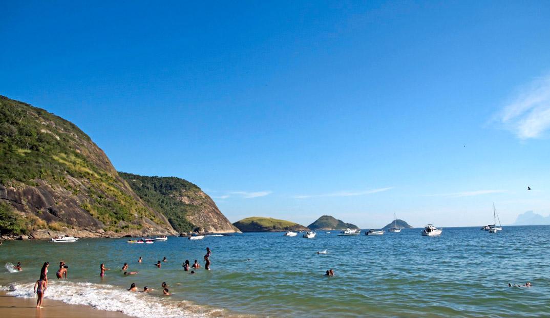 Praia de Itaipu - NIterói - por Halley-Pacheco-de-Oliveira