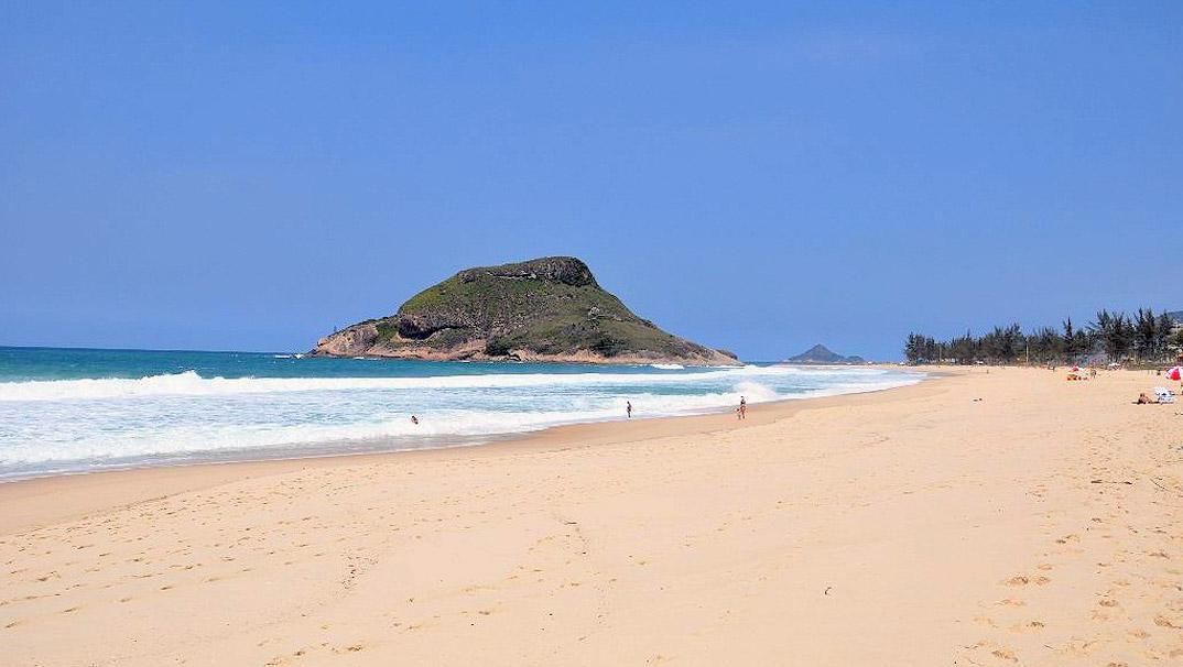 Praia do Recreio - Rio de Janeiro - RJ - por vejanomapa