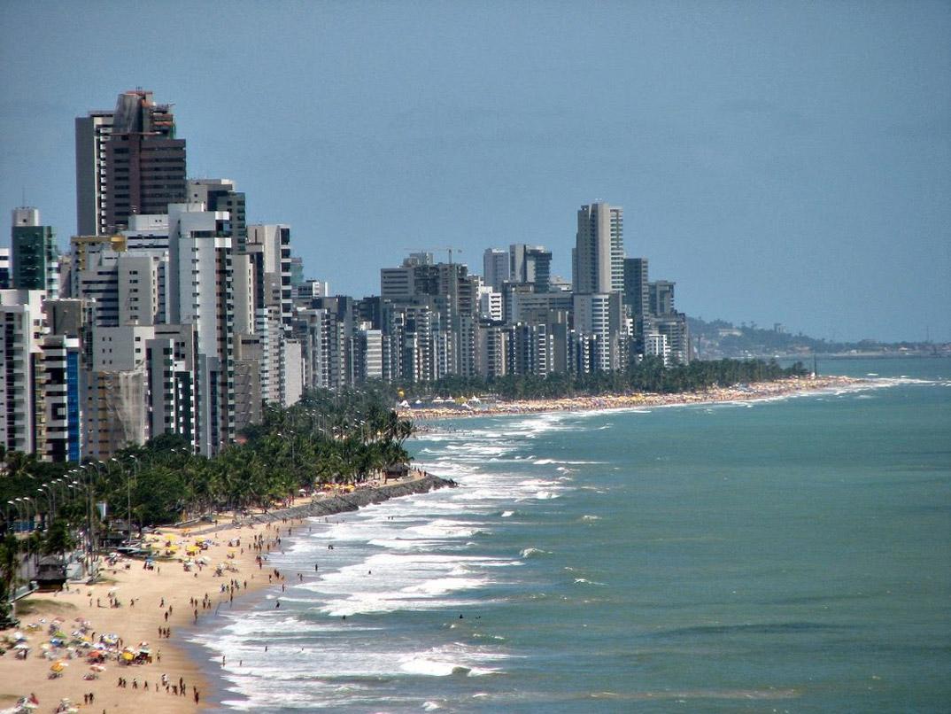 Praia de Boa viagem - Recife - Pernambuco - por aquiboaviagem