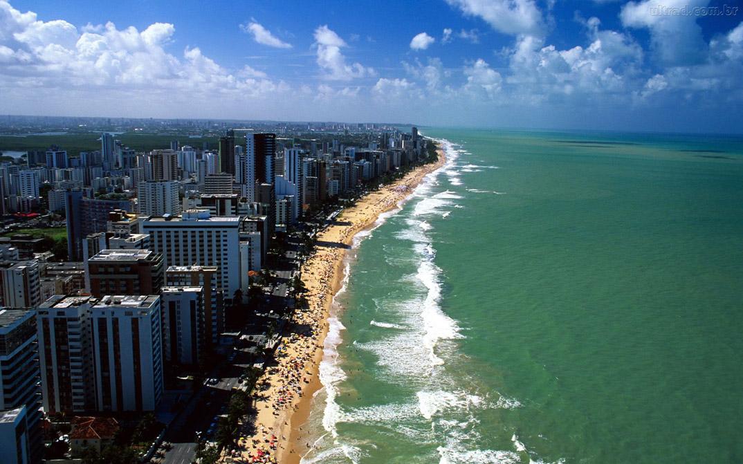 Praia de Boa viagem - Recife - Pernambuco - por ultradownloads