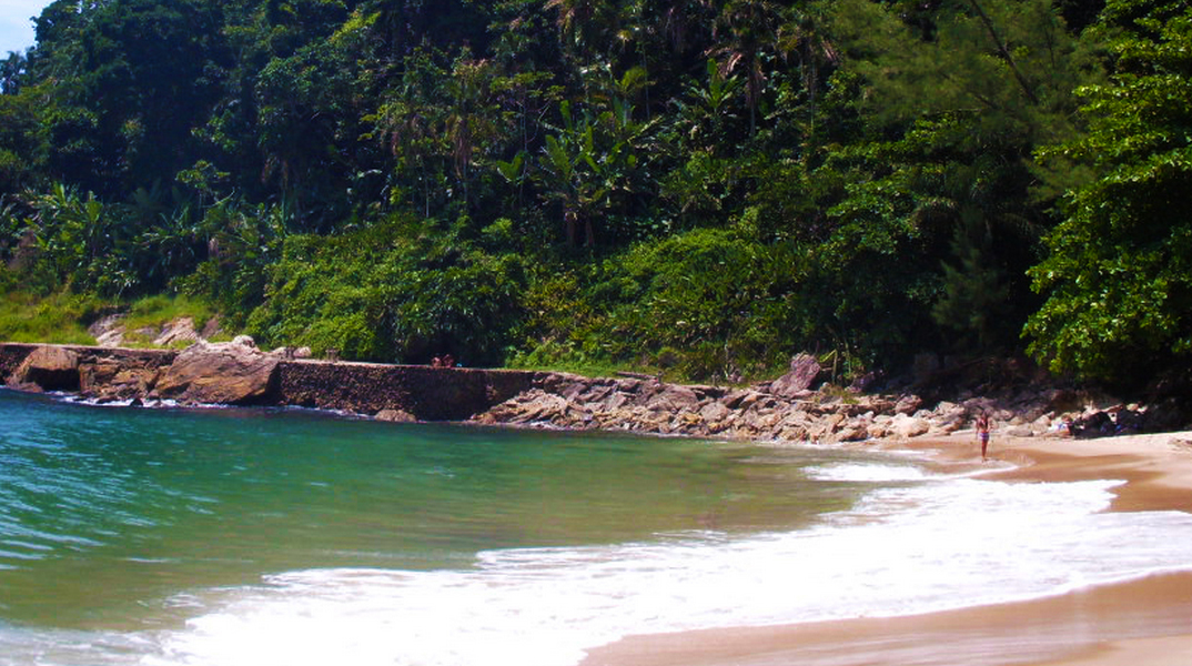 Praia do Éden Guarujá