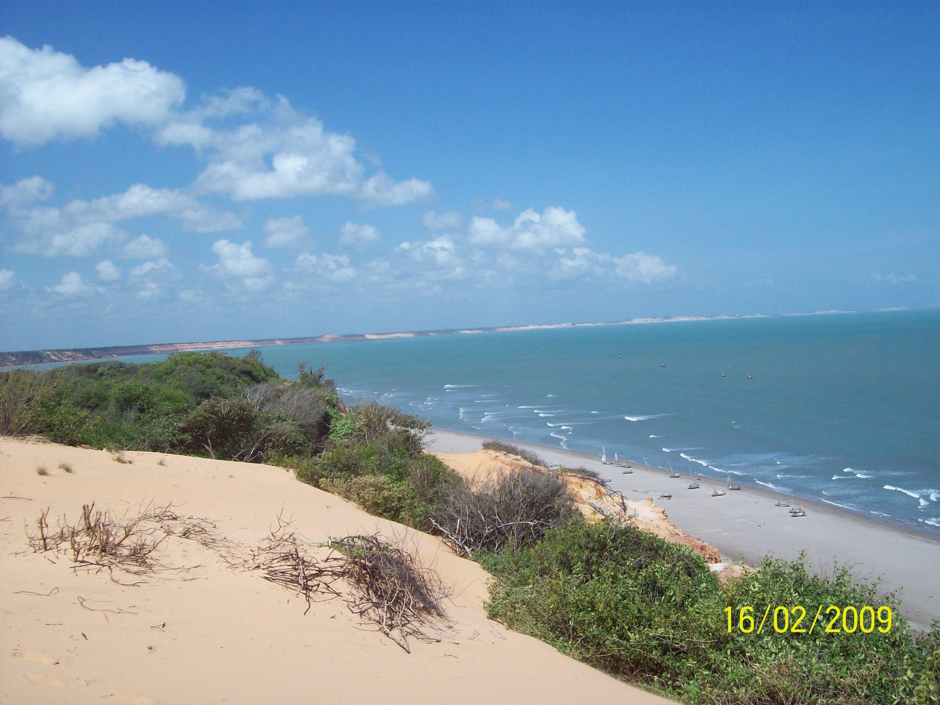 Praia Ponta Grossa - Icapuí - Ceará - Ailson