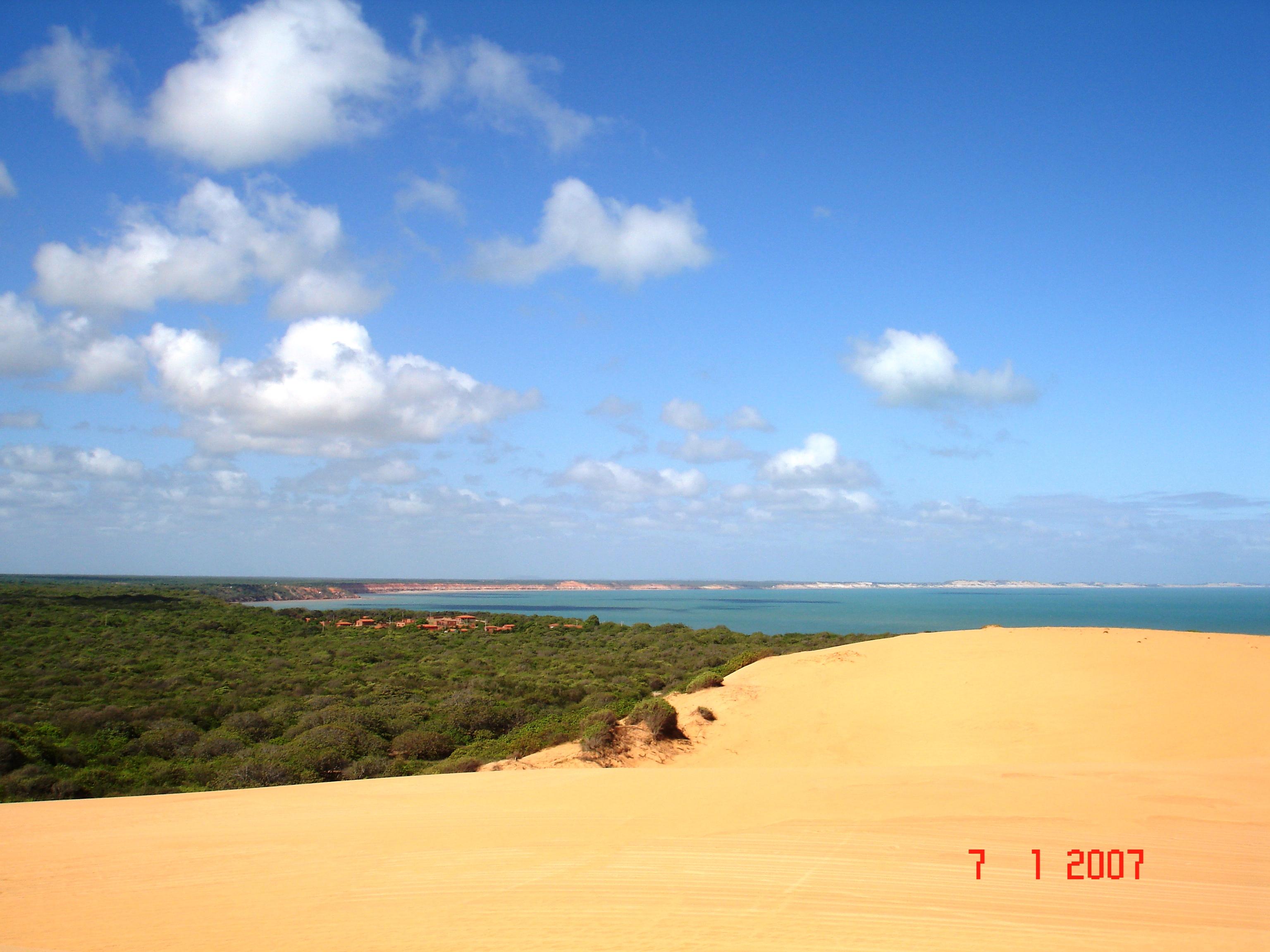 Praia Ponta Grossa - Icapuí - Ceará - por CROC751