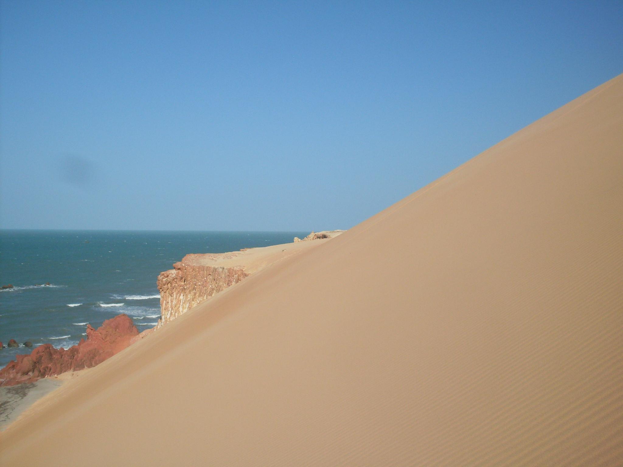 Praia Ponta Grossa - Icapuí - Ceará - por Wander-Mil1