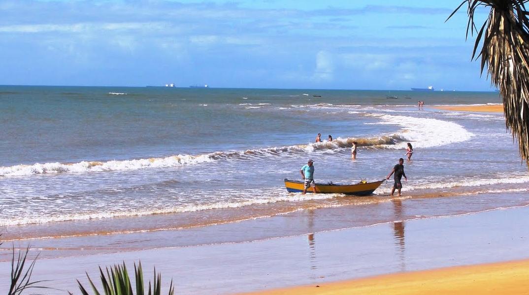 Pesca na Praia da Serra – Espírito Santo