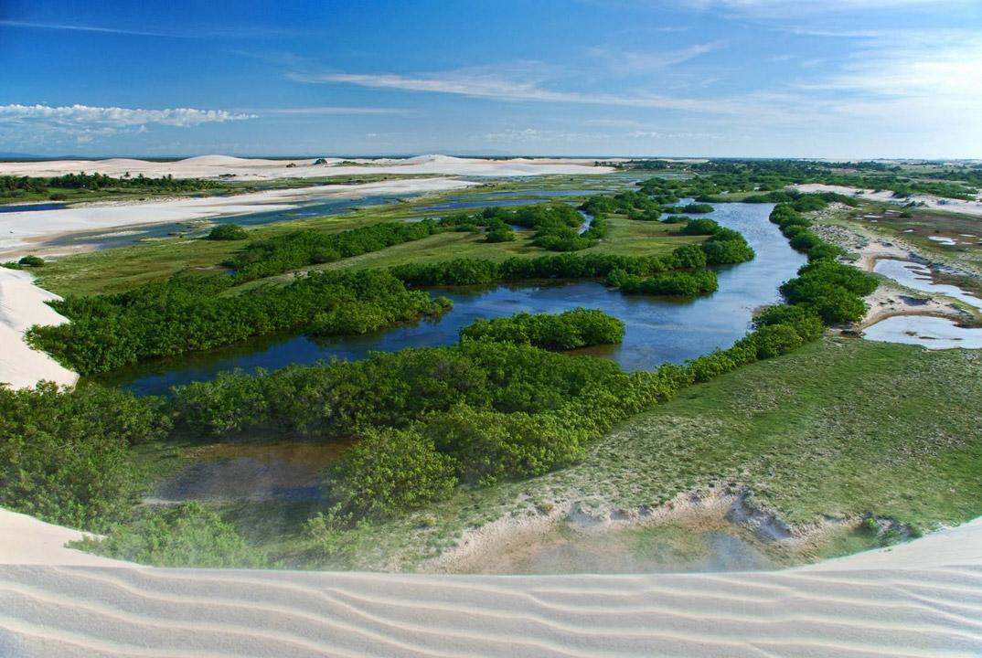 Praias de Camucim - Ceará - por Ulisses-L