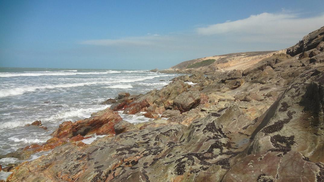 Praias de Camucim - Ceará - por luiza