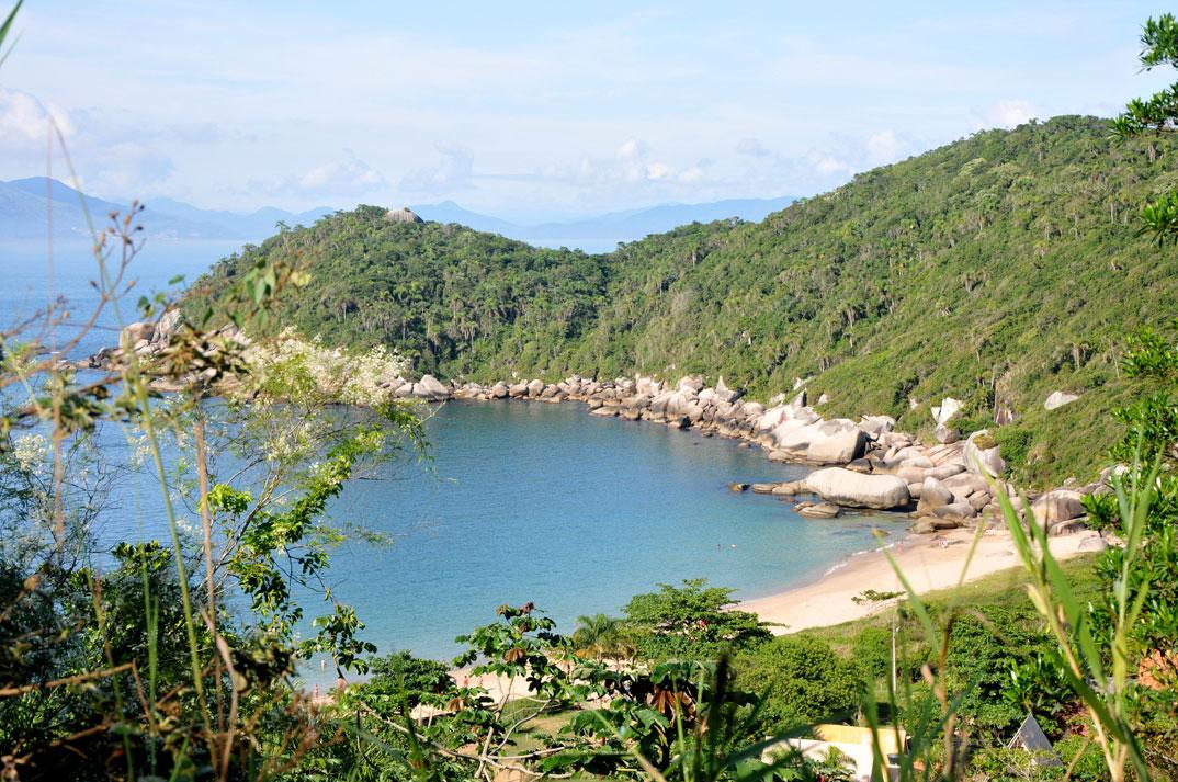 Praia da Tainha - Bombinhas - por Cris-Tafras