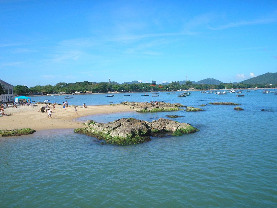 Praias de Penha - SC - por alinecmrosa