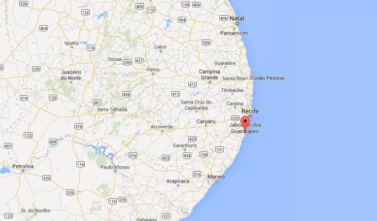 Onde fica Porto de Galinhas