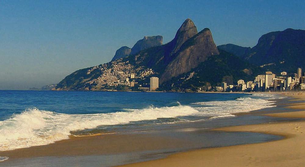 Praia Ipanema por blu-x