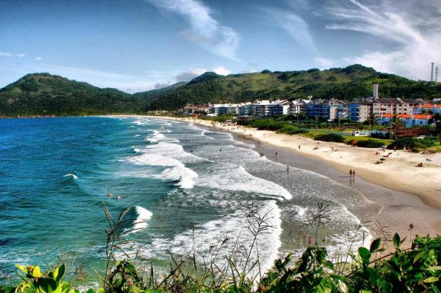 Brava - Praia de Florianópolis - por Felipe Carneiro - Agencia-RBS