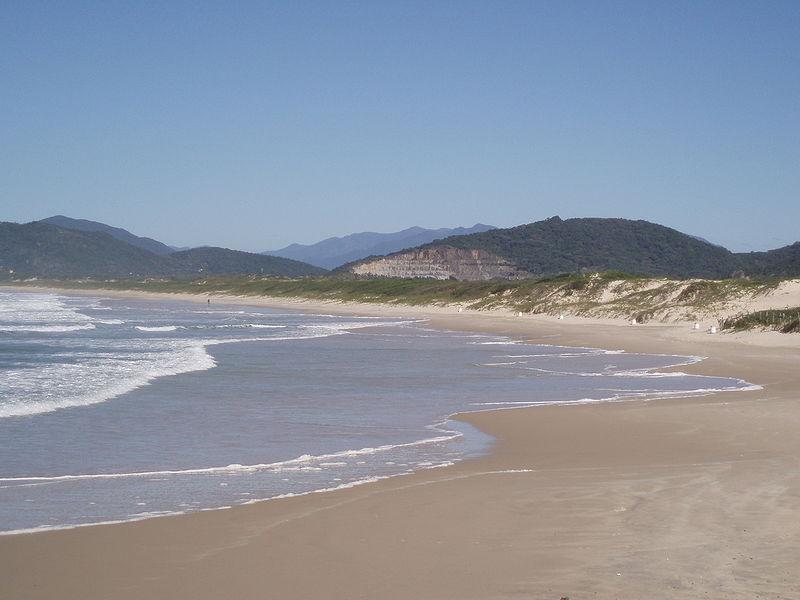 Praia da Joaquina - Florianopolis - por Lionel Baur