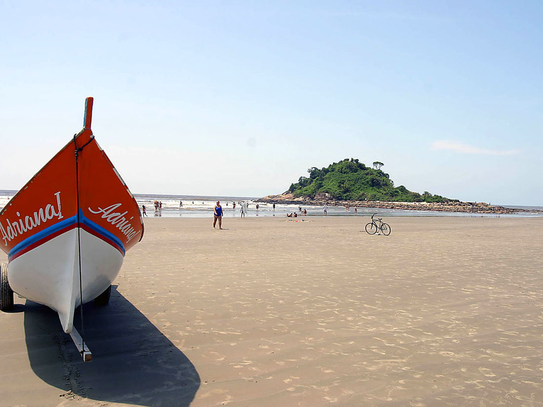 Praia dos Pescadores - Itanhaém