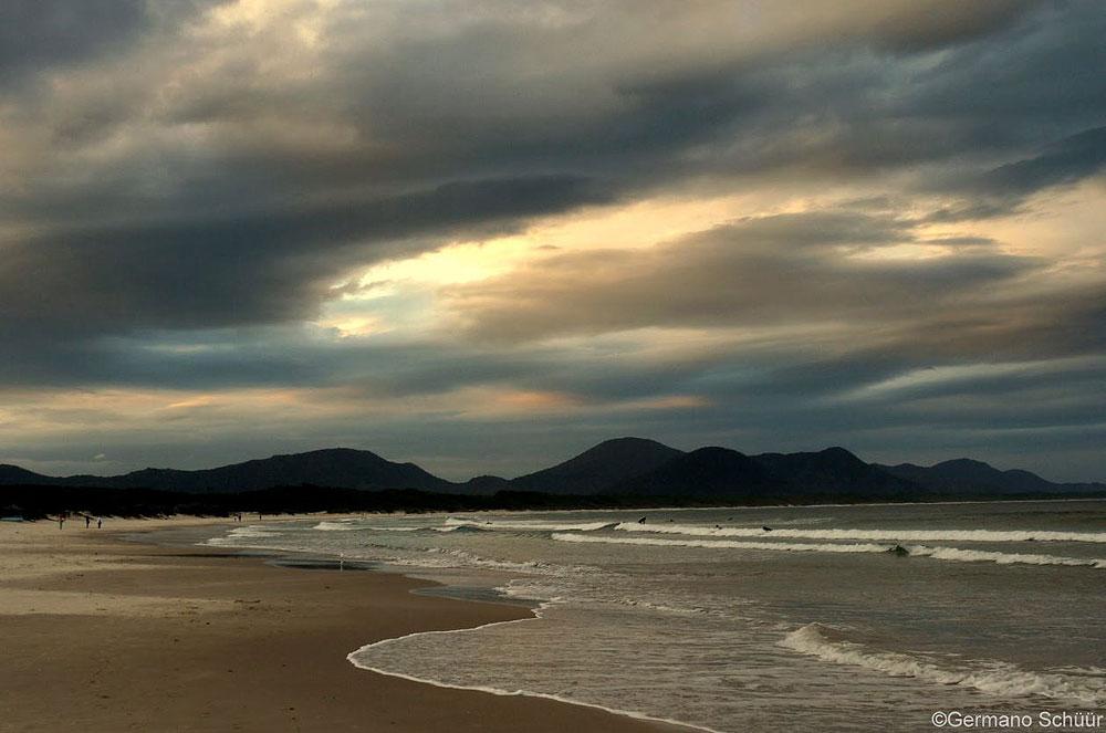 Praia da Barra da Lagoa - Florianópolis - por Germano Schüür