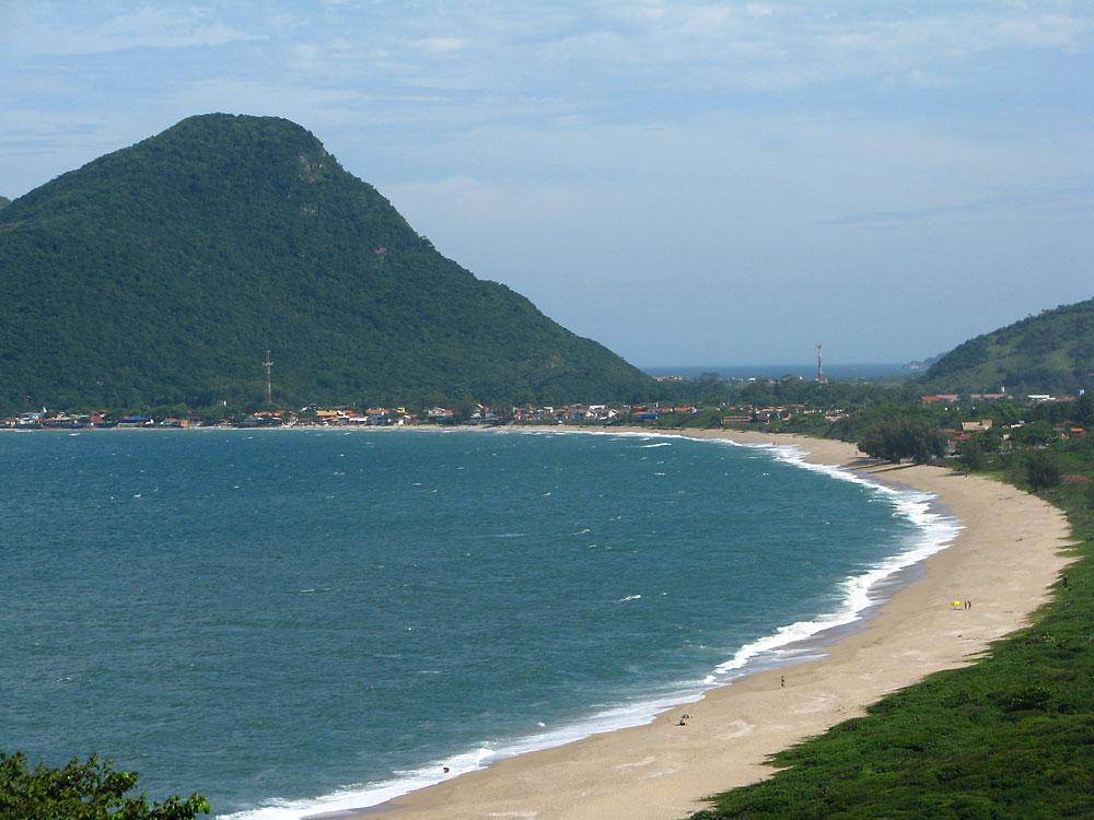 Praia do Morro das Pedras - Florianópolis - por geolocation