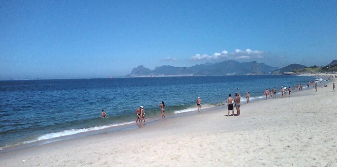 Praia de Camboinhas - Niterói - por bebella