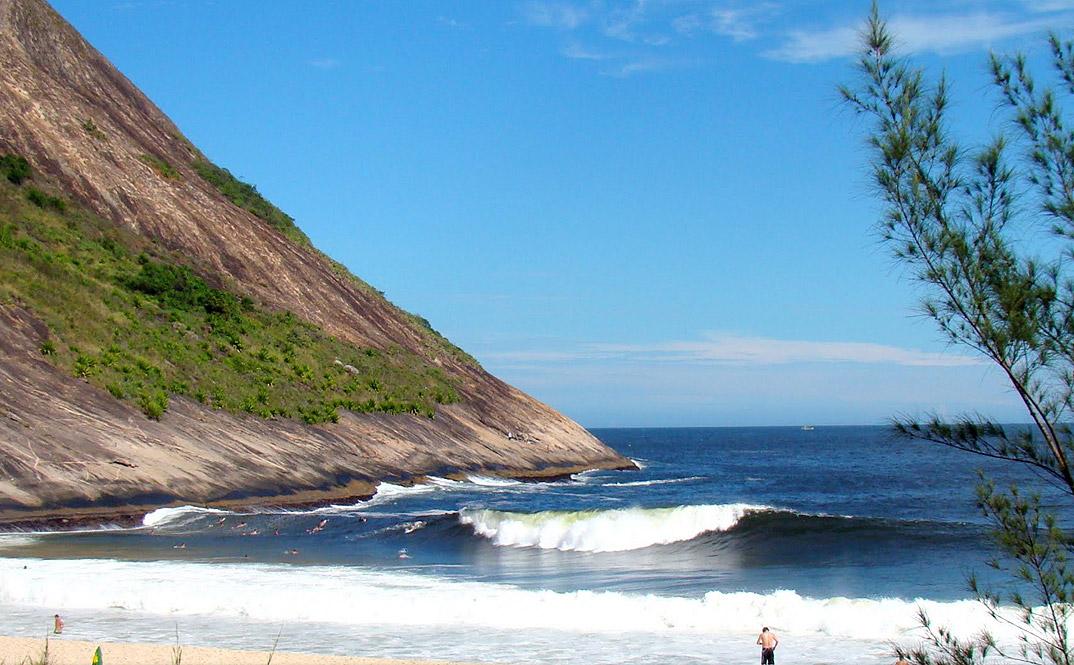 Praia de Itacoatiara - NIterói - por Fernando-Novaes