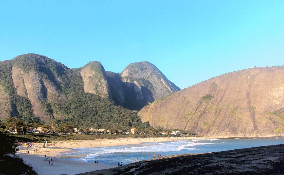Praia de Itacoatiara - NIterói - por eduapaixonadoSPA