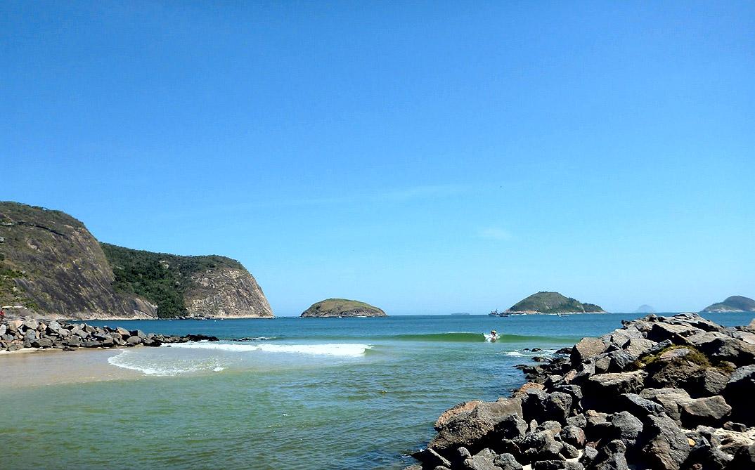 Praia de Itaipu - NIterói - por Fernando-Novaes