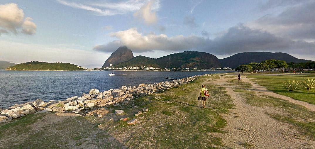 Flamengo - Rio de Janeiro - por street-view