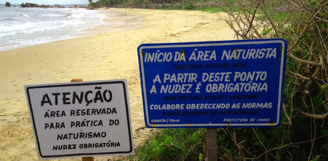 praias de nudismo no brasil praias