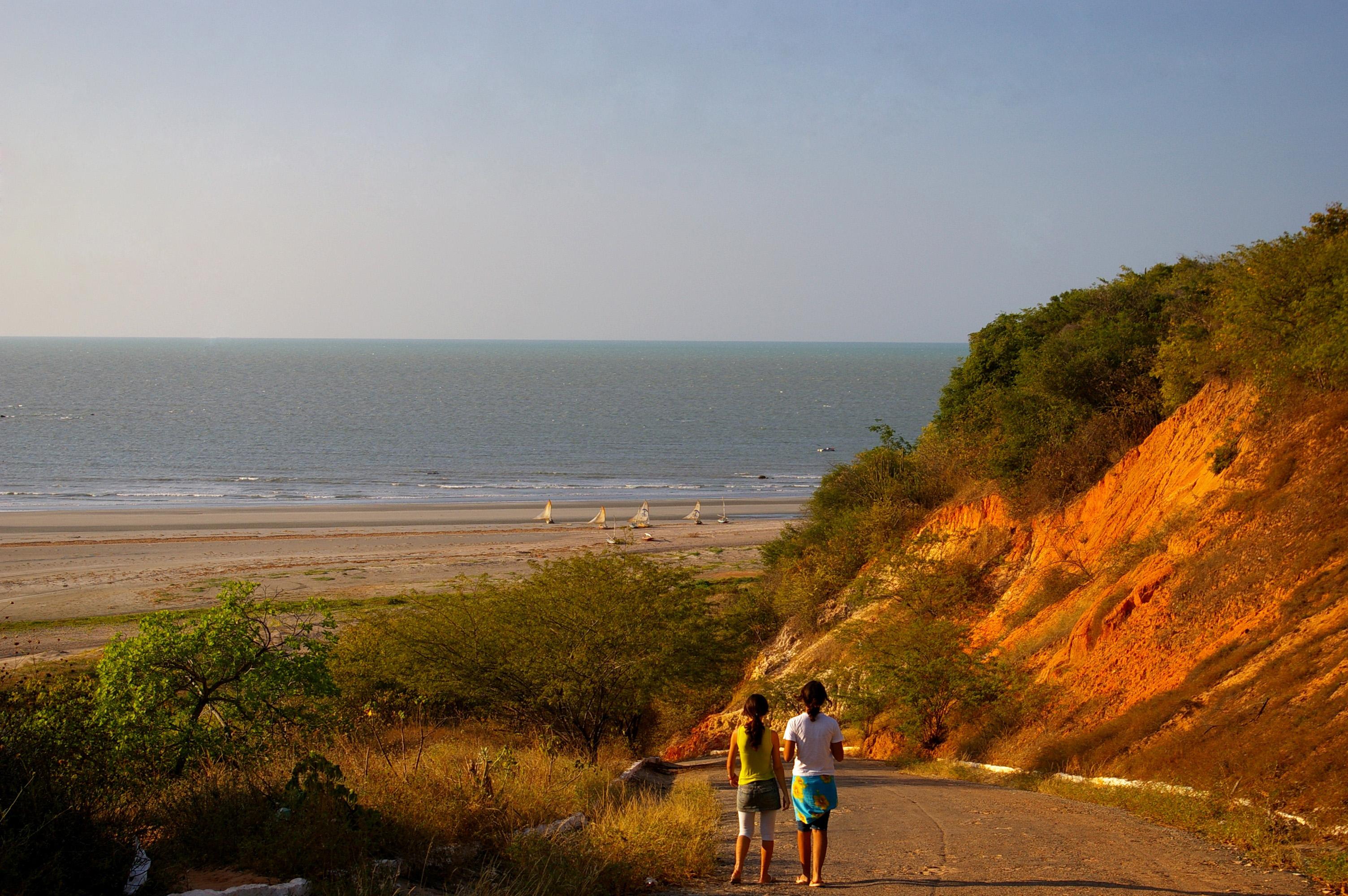 Praia Ponta Grossa - Icapuí - Ceará - por nimra-mhad1