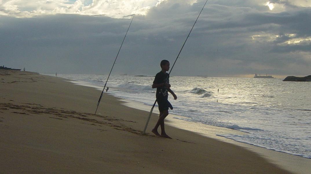 Pescador - Praias de Vila Velha – Espírito Santo