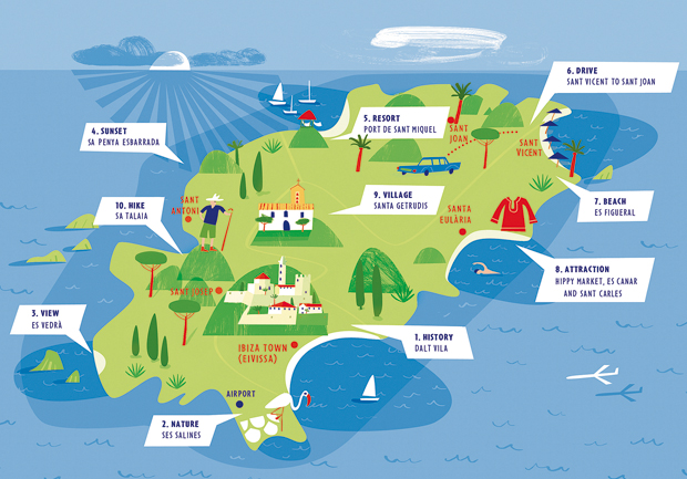 mapa de ibiza espanha Onde Fica IBIZA?   Veja no Mapa (Fotos e Dicas Incríveis!) mapa de ibiza espanha
