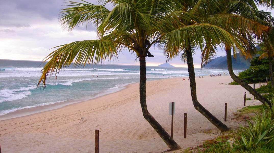 praia de maresias areia