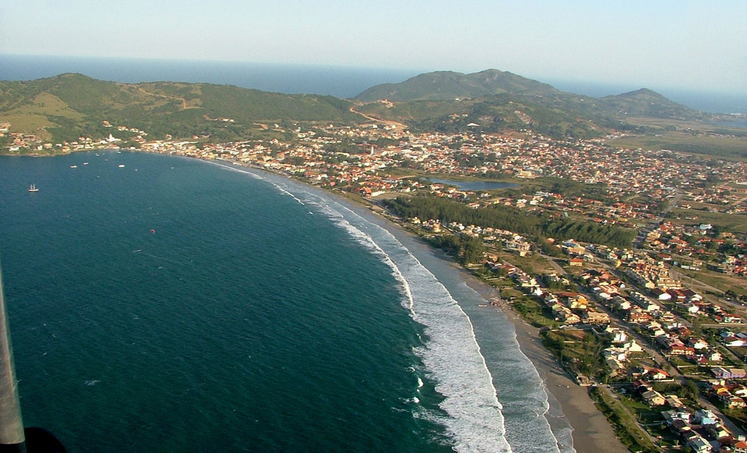 Praias de Garopaba - por gibatrike