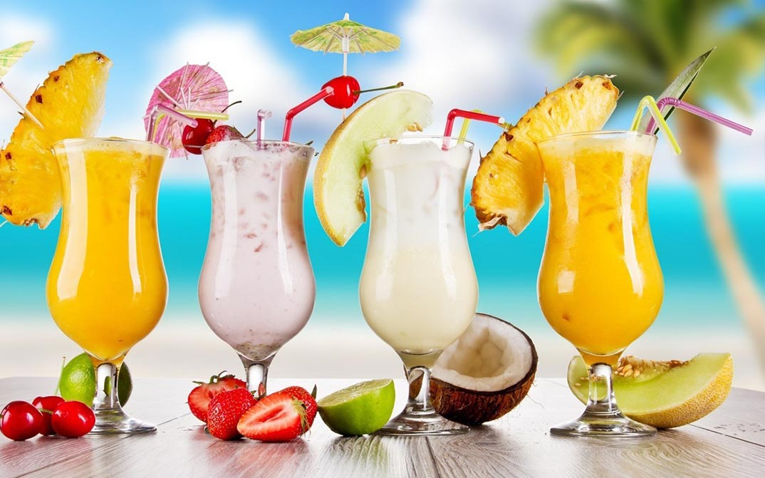 Receitas Drinks de Frutas