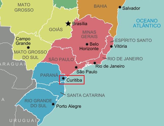 Onde Fica Curitiba