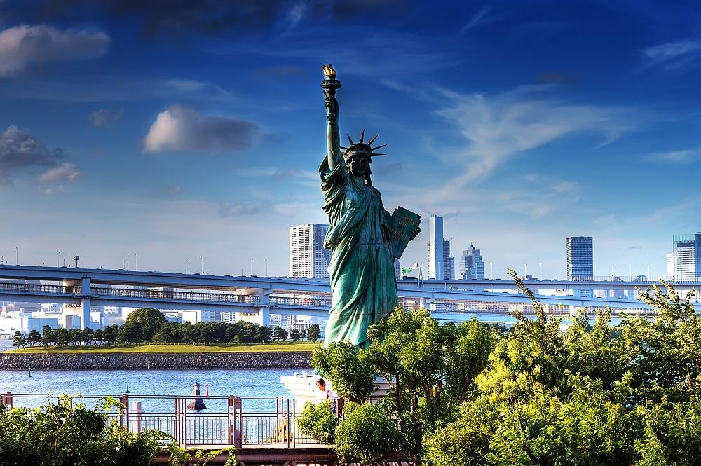 estatua da liberdade onde fica eua