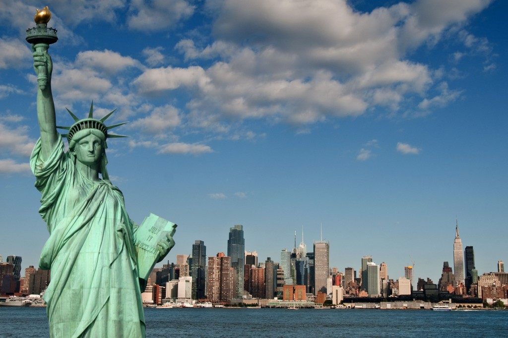 Foto - Onde fica a Estátua da Liberdade